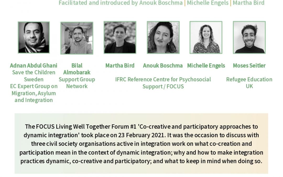 Missed our Forum I on co-creative and participatory approaches? Summary report out now!